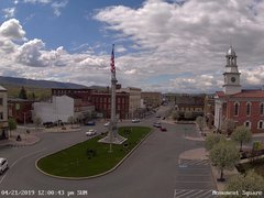 view from 13 East Market Street - Lewistown PA (west) on 2019-04-21