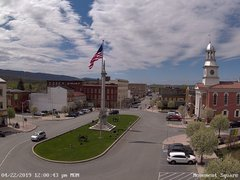 view from 13 East Market Street - Lewistown PA (west) on 2019-04-22