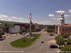 view from 13 East Market Street - Lewistown PA (west) on 2019-05-07