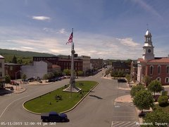 view from 13 East Market Street - Lewistown PA (west) on 2019-05-11