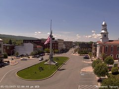 view from 13 East Market Street - Lewistown PA (west) on 2019-05-15