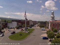 view from 13 East Market Street - Lewistown PA (west) on 2019-05-17