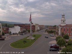 view from 13 East Market Street - Lewistown PA (west) on 2019-05-19