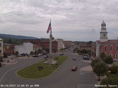 view from 13 East Market Street - Lewistown PA (west) on 2019-06-24