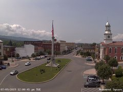 view from 13 East Market Street - Lewistown PA (west) on 2019-07-09