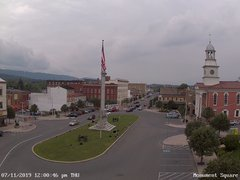 view from 13 East Market Street - Lewistown PA (west) on 2019-07-11