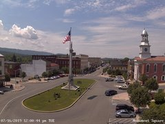 view from 13 East Market Street - Lewistown PA (west) on 2019-07-16