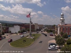 view from 13 East Market Street - Lewistown PA (west) on 2019-07-19