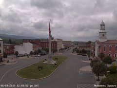view from 13 East Market Street - Lewistown PA (west) on 2019-08-03
