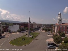 view from 13 East Market Street - Lewistown PA (west) on 2019-08-06