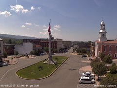 view from 13 East Market Street - Lewistown PA (west) on 2019-08-18