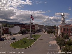 view from 13 East Market Street - Lewistown PA (west) on 2019-08-24