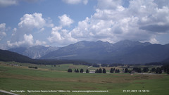 view from Pian Cansiglio - Casera Le Rotte on 2019-07-19