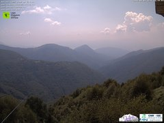 view from Lago Maggiore Zipline on 2018-08-03