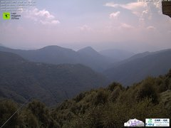 view from Lago Maggiore Zipline on 2018-08-06