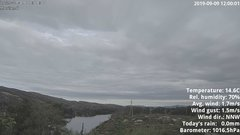 view from 1 Sotra island, W-Norway on 2019-09-09
