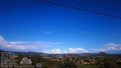 view from MeteoReocín on 2019-10-21