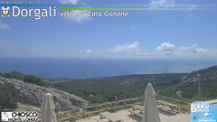view from Monte Longu on 2020-07-20