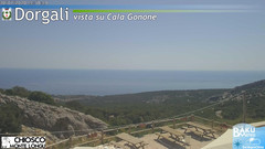 view from Monte Longu on 2020-07-30