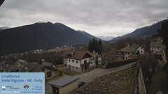view from Valle Vigezzo on 2020-02-01