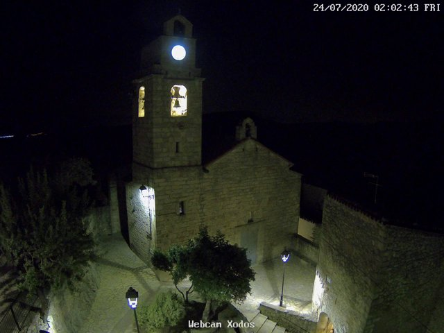 time-lapse frame, Xodos - Ajuntament webcam