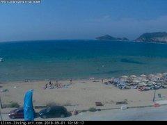 view from Agios Georgios NW Corfu Greece on 2019-09-01