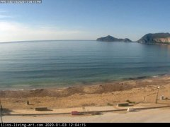 view from Agios Georgios NW Corfu Greece on 2020-01-03