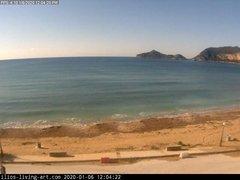 view from Agios Georgios NW Corfu Greece on 2020-01-06