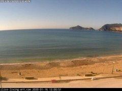 view from Agios Georgios NW Corfu Greece on 2020-01-16