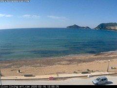 view from Agios Georgios NW Corfu Greece on 2020-02-16