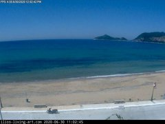 view from Agios Georgios NW Corfu Greece on 2020-06-30