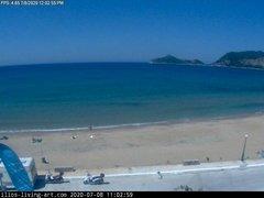 view from Agios Georgios NW Corfu Greece on 2020-07-08