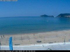 view from Agios Georgios NW Corfu Greece on 2020-07-10