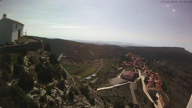 time-lapse frame, Xodos - Sant Cristòfol webcam