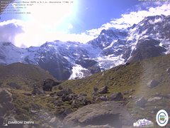 view from Rifugio Zamboni on 2019-09-11