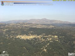 view from Monte Lusei Seui on 2019-09-16
