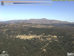 view from Monte Lusei Seui on 2019-09-30