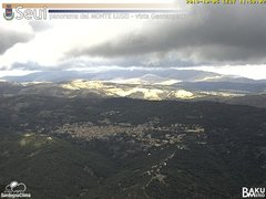 view from Monte Lusei Seui on 2019-10-05