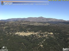 view from Monte Lusei Seui on 2019-10-09