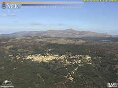 view from Monte Lusei Seui on 2019-10-10