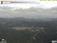view from Monte Lusei Seui on 2019-10-13