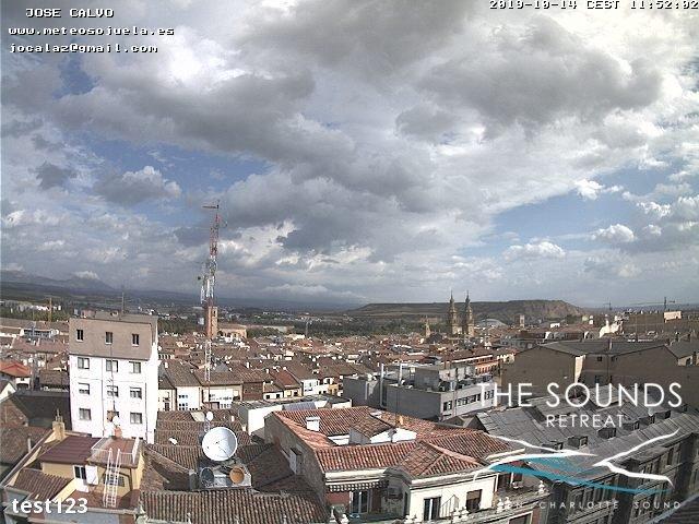 time-lapse frame, 2019-10-14 12:00-19:49 webcam
