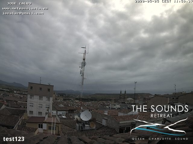 time-lapse frame, 2020-05-25 12:00-20:00 webcam