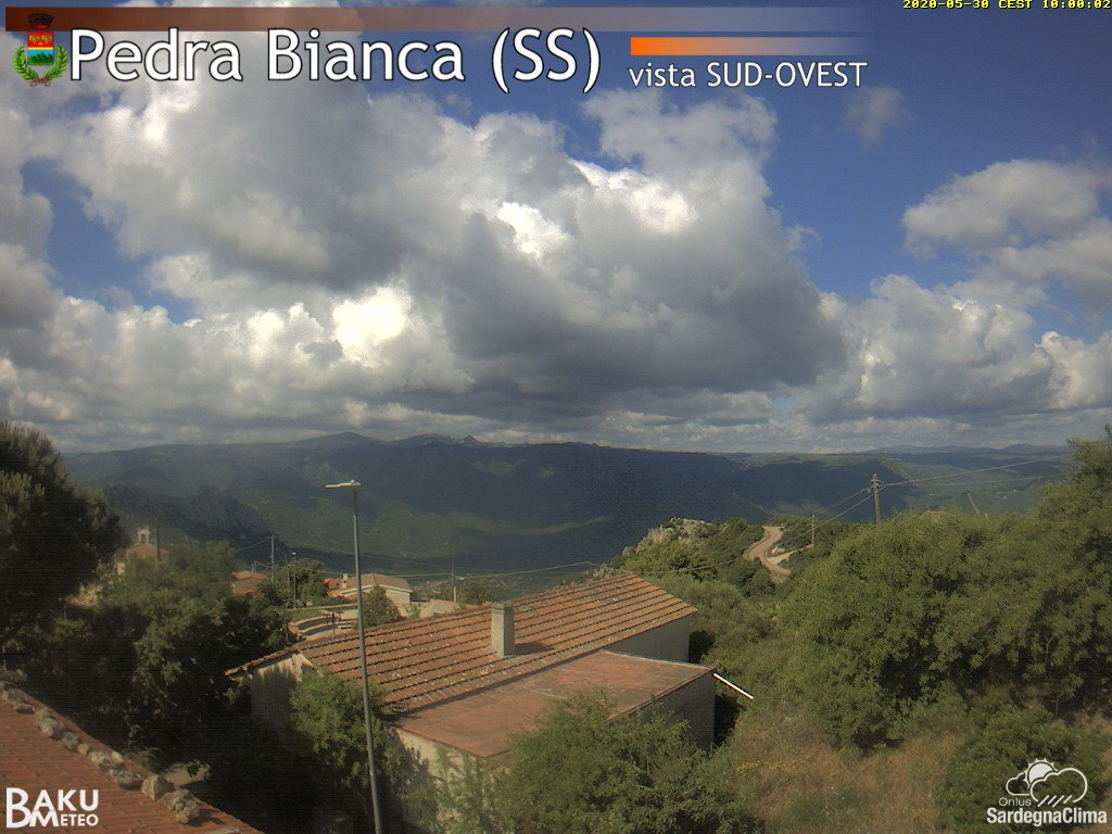 time-lapse frame, Pedra Bianca webcam