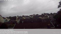 view from Wembury, Devon. Knighton Hill Cam on 2019-10-10