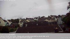 view from Wembury, Devon. Knighton Hill Cam on 2019-10-13