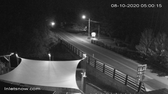 time-lapse frame, South Shore Rd, Inlet, NY webcam
