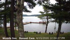 view from 4th Lake, Inlet, NY on 2020-06-15