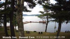 view from 4th Lake, Inlet, NY on 2020-07-13