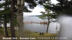 view from 4th Lake, Inlet, NY on 2020-07-14